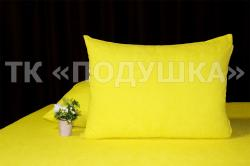 Купить желтые махровые наволочки на молнии в Ярославле