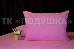 Купить розовые махровые наволочки на молнии в Ярославле