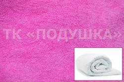 Купить розовый махровый пододеяльник  ТМ Подушка в Ярославле