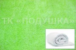 Купить салатовый махровый пододеяльник  в Ярославле
